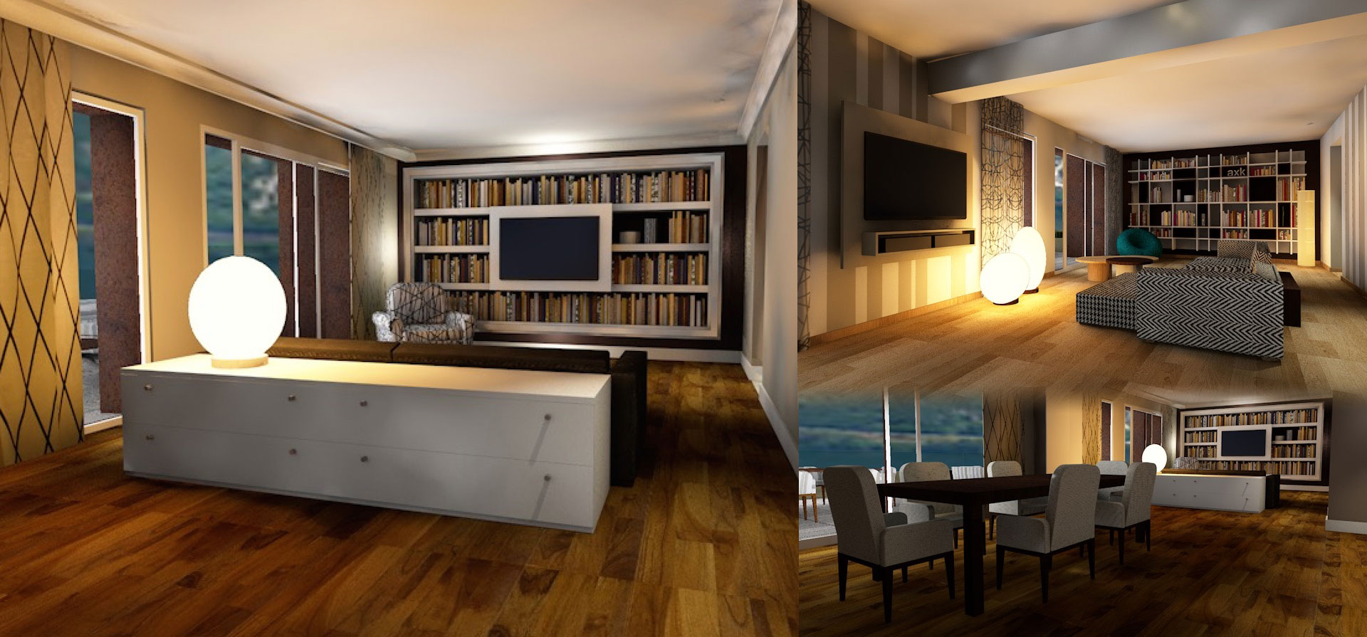 Servizi per l arredamento di interni maison du charme for Designer d interni