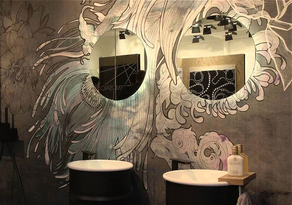 L atelier dell arredo di classe maison du charme for Tappezzerie murali